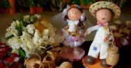 Decoração de bolos - tema festa junina infantil