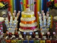 Fitas coloridas de  cetim: um luxo na decoração. Foto: Reprodução