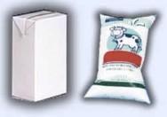 O leite pode ser armazenado, sem refrigeração, por seis meses.