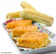 O bolo de milho verde é uma deliciosa iguaria doce, capaz de encantar até os mais refinados gostos