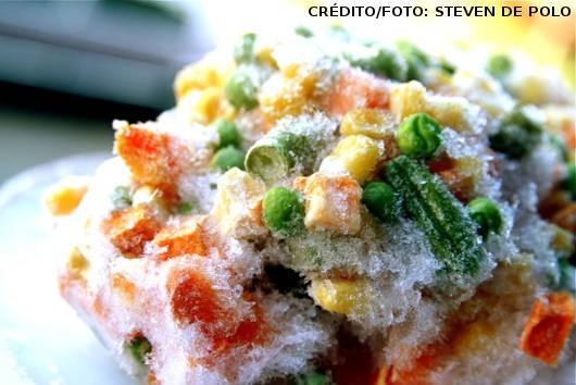 O congelamento dos alimentos vegetarianos é um dos melhores métodos de conservação