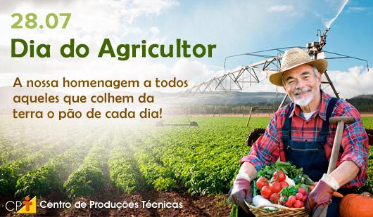 Banner: Dia do agricultor. Cursos CPT
