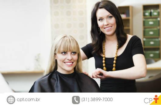 Cabeleireiro - conheça os tipos de cabelos antes de tratá-los. Curso CPT Estudo dos Cabelos e seus Tratamentos