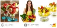 Empresária fatura alto vendendo frutas e sucos naturais em empresas