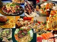 Temos a presença indígena, africana e europeia como base da alimentação brasileira.