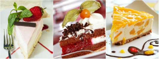 Não há quem resista às deliciosas tortas confeitadas.