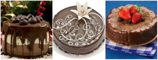 Qualquer que seja o evento, os bolos e as tortas atraem olhares e despertam a vontade de comer.