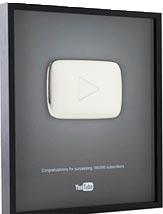 Prêmio Botão Play de Prata do YouTube