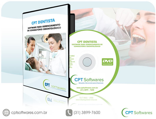 O CPT Dentista - Software para Gerenciamento de Consultório Odontológico, ajudará você no controle dos atendimentos e na organização de todas as atividades diárias, semanais e mensais