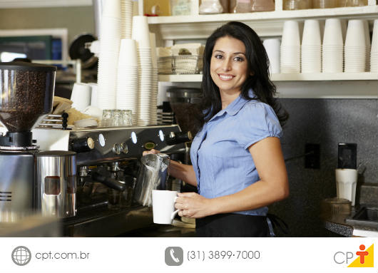 Barista - profissão de muita procura no mercado e pouca oferta de mão de obra