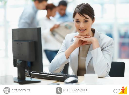 Profissional em seu ambiente de trabalho