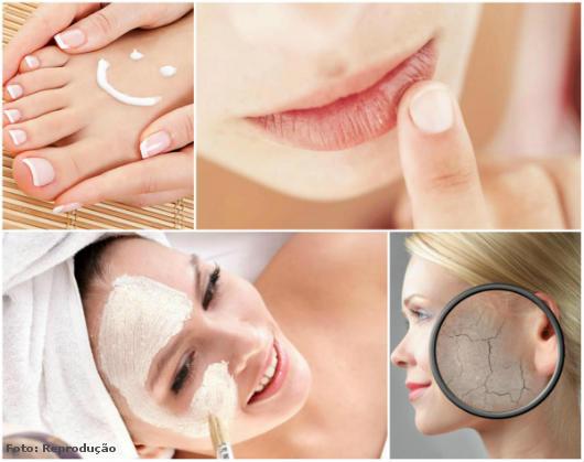 foto apresentando imagens de mulheres em tratamento de pele
