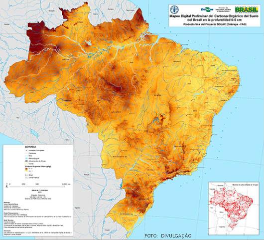 O mapeamento digital dos solos brasileiros tem o objetivo principal de contribuir em inúmeros programas de conservação de recursos naturais