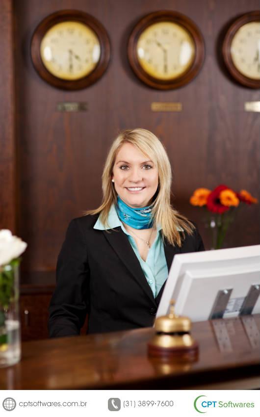 O CPT Hotel e Pousada permite o controle de hospedagem com registro de entrada e de saída dos hóspedes, a elaboração de um mapa de reservas e o lançamento de diárias