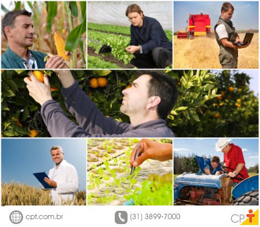 Atualmente, o engenheiro agrônomo está entre os profissionais mais requisitados pelo mercado de trabalho