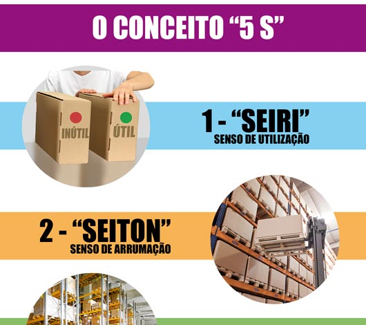 Infográfico programa 5S parte 1