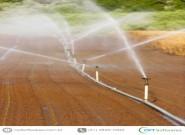 Benefícios da irrigação por aspersão