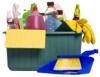 Cinco etapas para limpar a casa