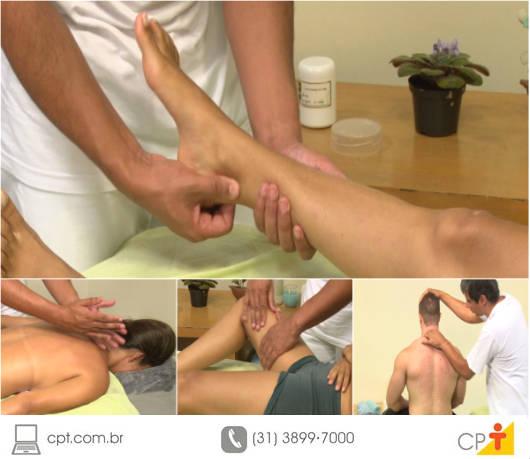 A massagem desportiva é um campo de trabalho em contínua expansão, devido à alta demanda do mercado e à falta de massagistas capacitados