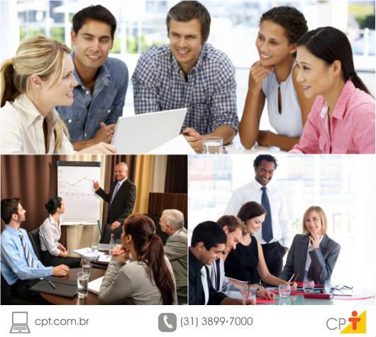 A falta de administração do tempo em reuniões gera desorganização, prolixidade, falta de concisão, além do esgotamento de seus participantes