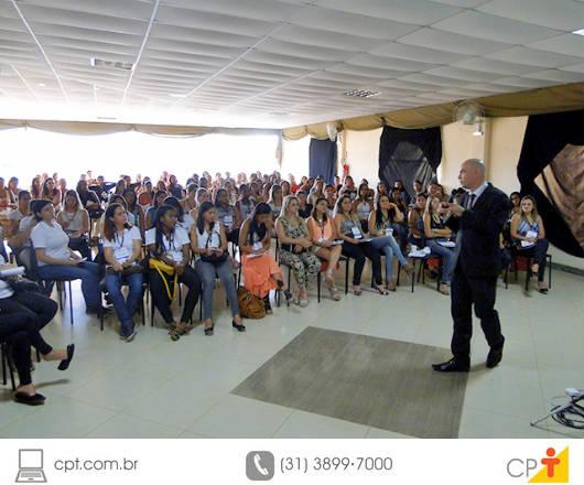 O Grupo CPT investiu no treinamento de sua equipe para proporcionar um melhor atendimento aos clientes/alunos