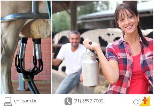 Para evitar a contaminação do leite, três aspectos de grande valia no processo de ordenha devem ser considerados: a higiene do ordenhador, da vaca e do material utilizado