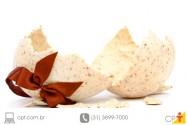 Receitas de Páscoa - ovo crocante de nozes