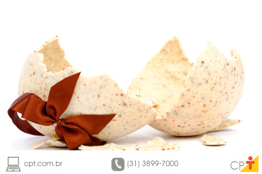Receita de Ovo de Páscoa Crocante de Nozes