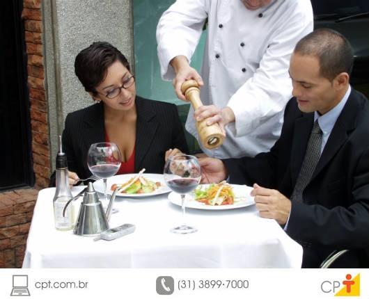 Atendimento gourmet