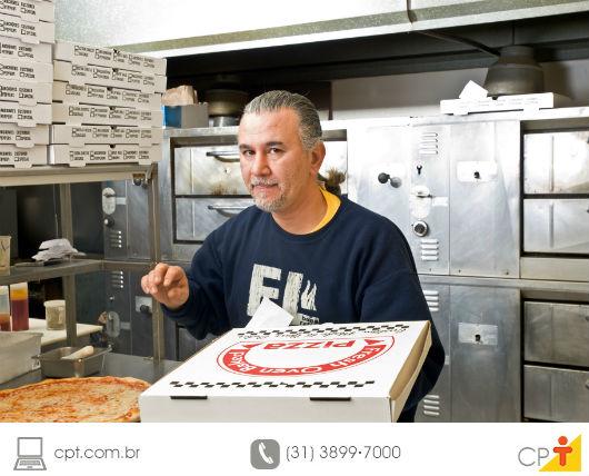 fabrica caseira de pizza congelada