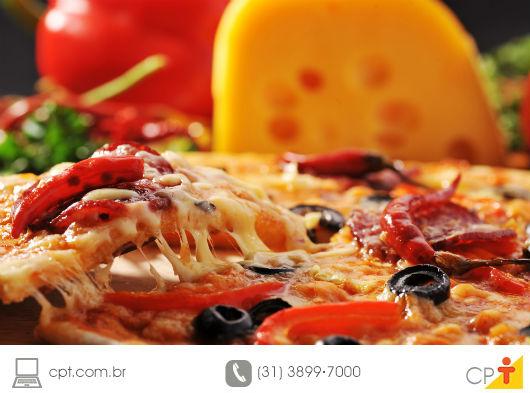 foto de pizza assada