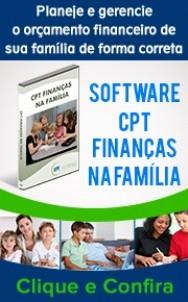 Capa do Software CPT Finanças na Família