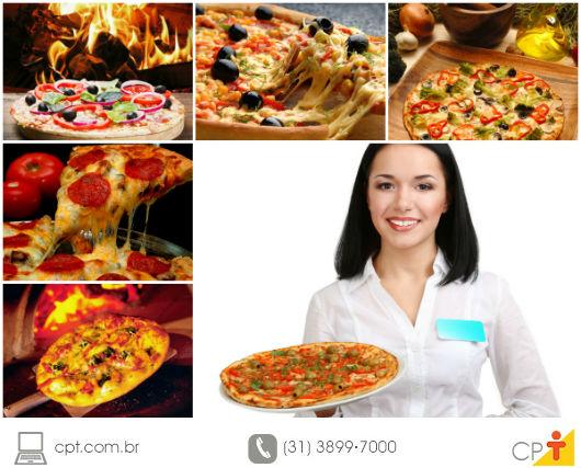 foto de pizzas de sabores diversos