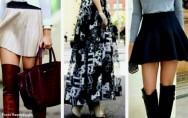 Saias curtas ou longas: qual a saia certa pra mim?