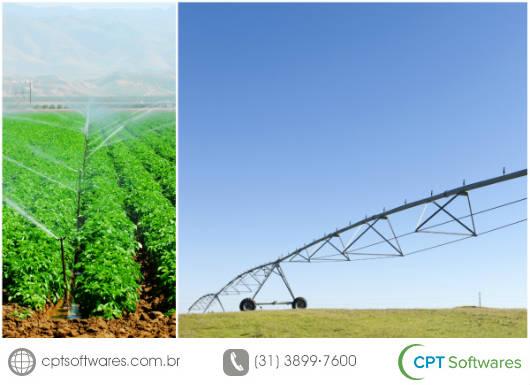 Software para controle do manejo da irrigação