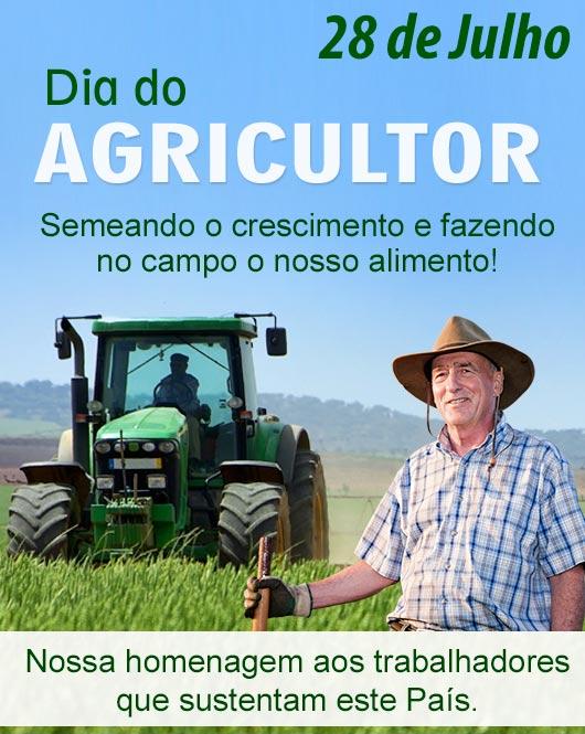 Agricultor no campo