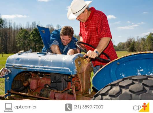 Cuidados com máquina agrícolas