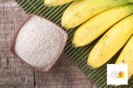 Doce receita: sorvete de banana e morango com biomassa de banana verde