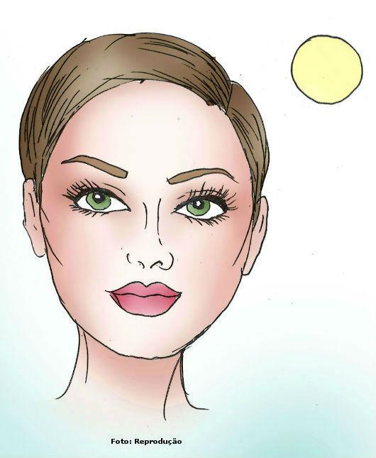 Quadrado, redondo, oval ou triangular. Qual é o formato do seu rosto?