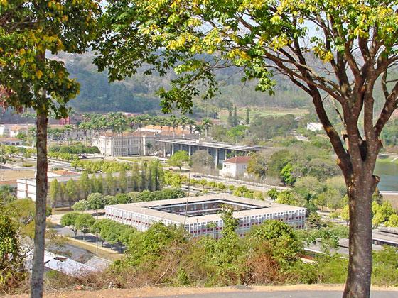 Vista da UFV
