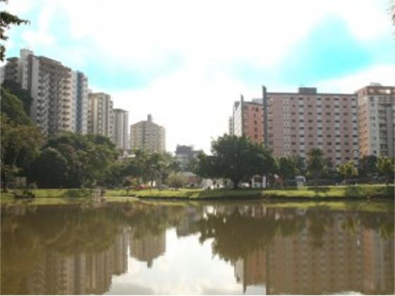 Vista da Lagoa da UFV