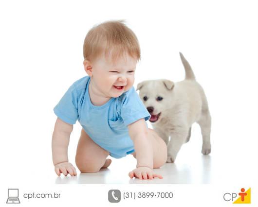 Benefícios dos pets para as crianças