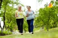 Envelheça com saúde - pratique atividades físicas