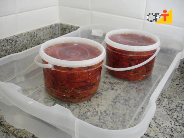 Tomate seco em conserva