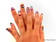 Aprenda a fazer uma unha decorada com as cores da Globeleza e brilhe no carnaval