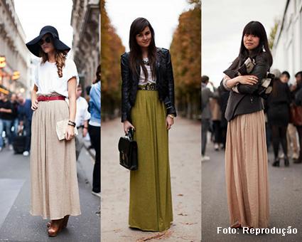 Aprenda os truques para reaproveitar os vestidos e saias de verão no inverno