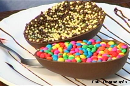 Ovos de chocolate