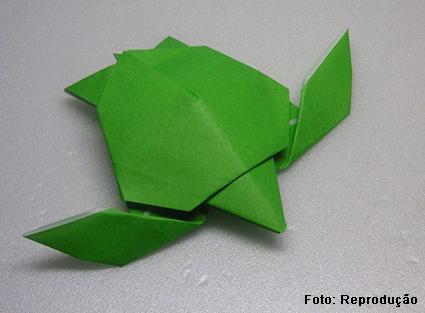 Origami tartaruga