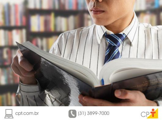 Aprenda com os livros, eles têm muito a ensinar - Artigos CPT