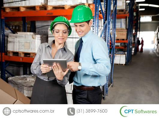 Vantagens dos softwares para controlar o chão de fábrica